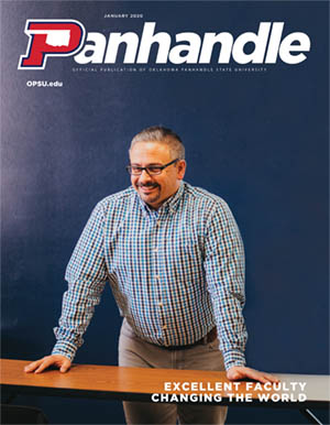 Cover of January 2020 Panhandle Magazine