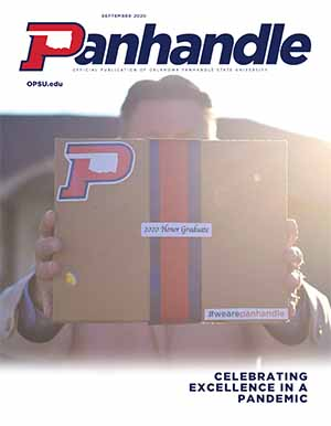 Cover of September 2020 Panhandle Magazine