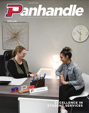 Cover of January 2021 Panhandle Magazine