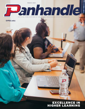 Cover of March 2021 Panhandle Magazine