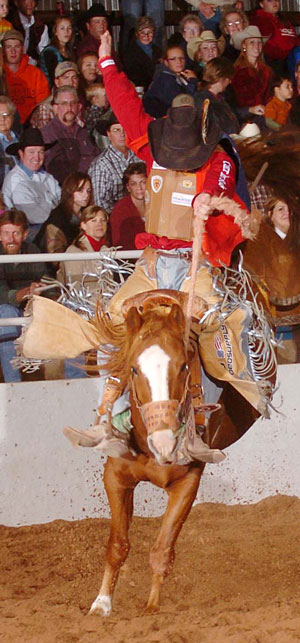 Taos Muncy at Alva Rodeo