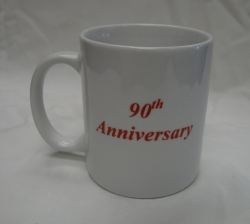 Photograph of 90th Anniversary Mug
