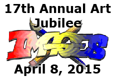 17th Annual Art Jubilee - April 8, 2015