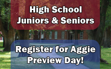 Aggie Preview Day Registration