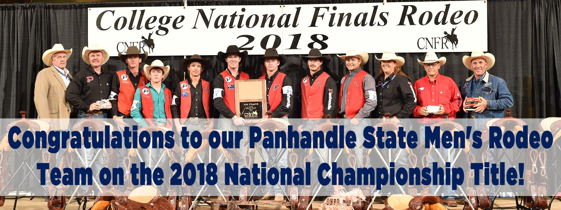 Image of the rodeo team at 2018 CNFR