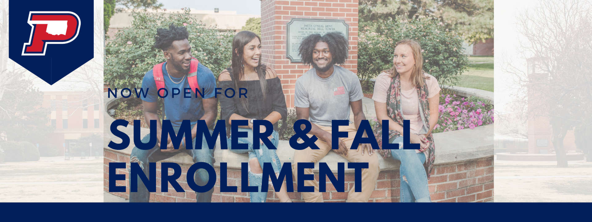 Summer and Fall Enrollment is open!