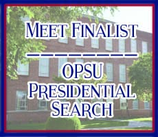 Meet Finalist - OPSU Presidential Search