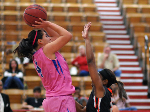 Whitley Coca scored 18 points in Saturday's game.—Laycee Collins photo
