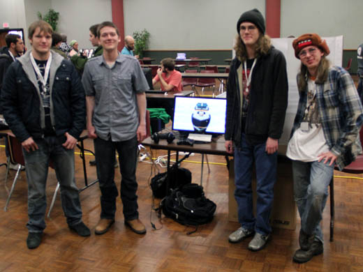 OPSU students won the Animation Award and finished in third place overall at the Heartland Gaming Expo held March 28-30. —Courtesy photo