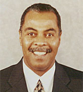 Charles Terry, shown here in 2003, returns to OPSU as head coach of the women's basketball team.—OPSU file photo