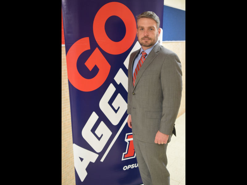 Dr. Ryan Blanton has been selected as the Oklahoma Panhandle State University Vice President of Outreach following a national search completed by a 20-member search committee. —Photo by Danae Moore