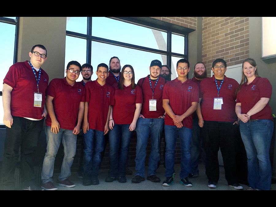 From left to right: Cole Tolbert, Martin Jurado, Grant Sparkman, Brian Martinez, Elias Pitterle, Madilyn Rider, Chance Hayden, Travis Pitterle, Jorge Rosas, Allston Hadley, Ricardo Quezadaponce, Kim Tuttle. —Courtesy Photo
