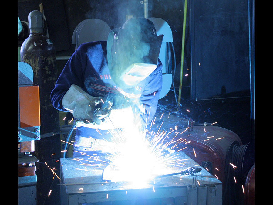 Panhandle State is now offering a Welding Certification Program. —Photo by Dustyn Murphey