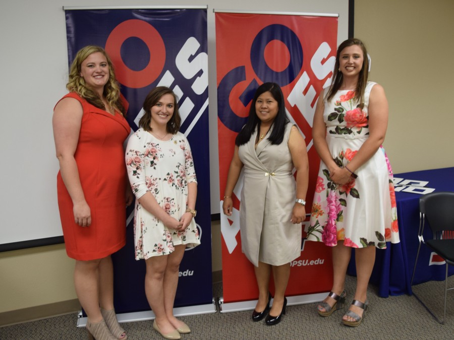 A special Pinning Ceremony was held May 20th on the Panhandle State campus. —Photo by Danae Moore