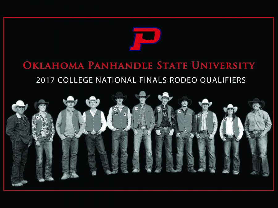 Seven Panhandle State Aggie Rodeo Team members are powering into short round Saturday action tonight at the College National Finals Rodeo.