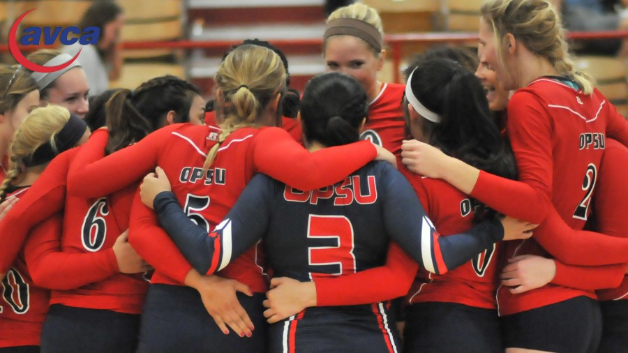 Panhandle State volleyball gave a group effort to earn their seventh AVCA Team Academic Award over an eight-year period.