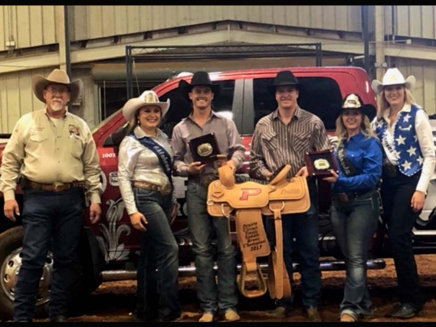 Hardy (Chad) Braden cashed his ticket for the Ram National Circuit Finals Rodeo (RNCFR) through his stellar performance in the saddle bronc riding at the Prairie Circuit Finals. (Courtesy photo)