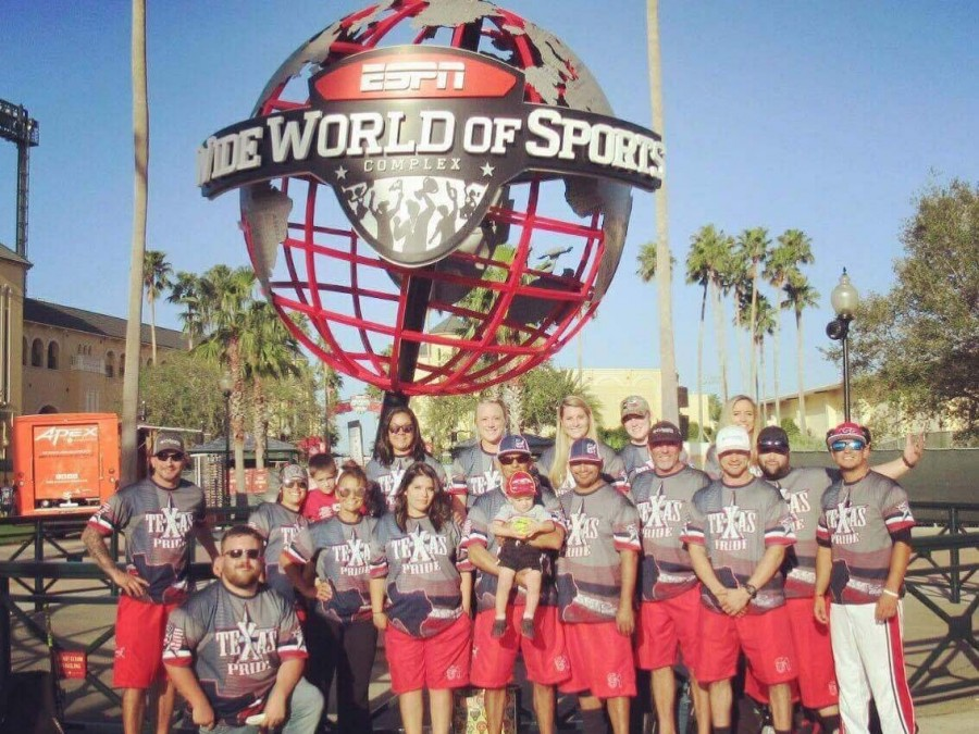 Desha Almanza, a student here at Panhandle State, got the opportunity to travel to Florida this past October where she competed in the Mixed Worlds Tournament in Orlando held Oct. 13-15. —Courtesy photo