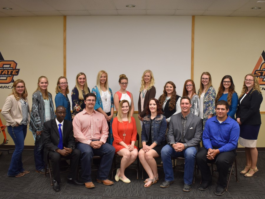 Alpha Zeta members gather together following a special induction ceremony on October 16. —Courtesy photo