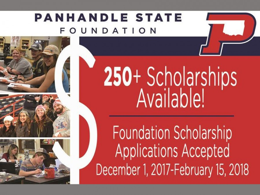 Approximately 250 scholarships are available through the Panhandle State Foundation for the 2018-2019 year. Apply today!