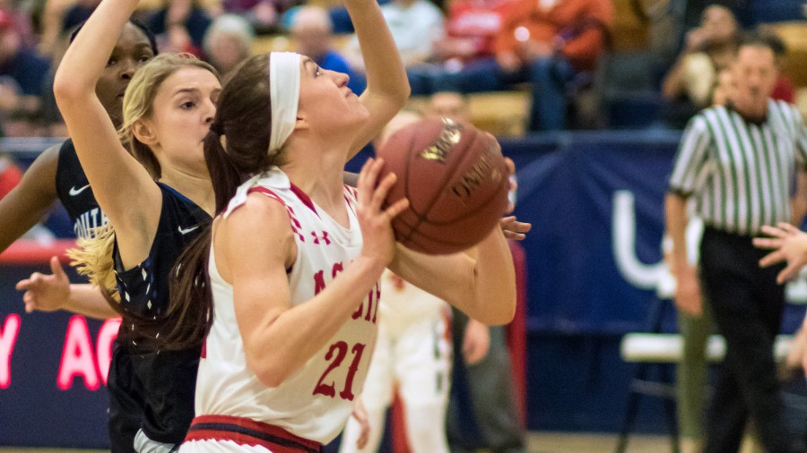 Addison Munsch added 21 points for Panhandle State versus Southwestern Christian Saturday at Anchor D Arena.-Beverly Hintergardt photo