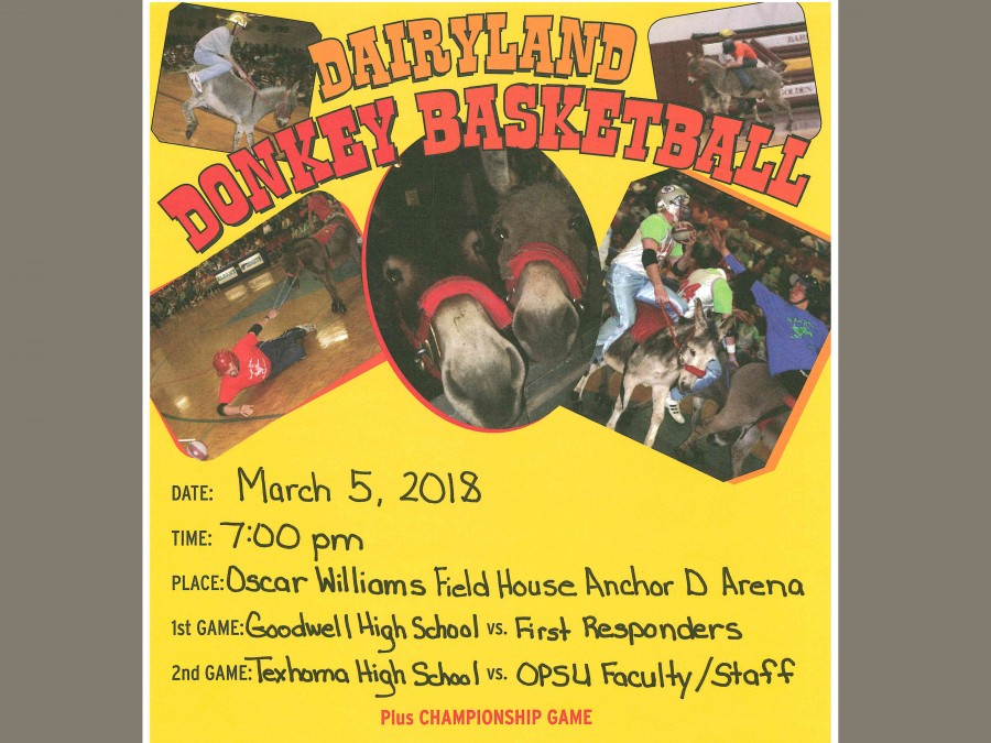 Dairyland Donkey Basketball is coming to Anchor D Arena on March 5!