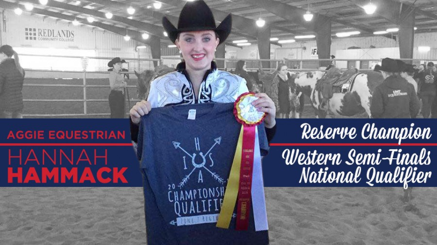 Courtesy photo: Hannah Hammack advanced to regionals at SNU, where she qualified for the IHSA Western Semi-Finals in Galva, Ill.-Courtesy photo