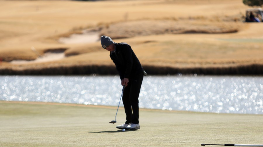 Freshman Chandler Evans posted a season-low for the Aggies with a 79 in round two at the Arbor Hotels Classic in Lubbock.-Courtesy photo