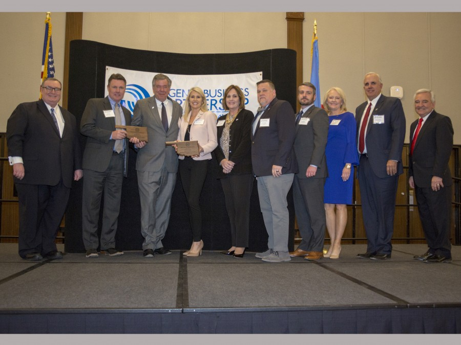 Anchor D recently received the Regents Business Partnership Excellence Award. —Courtesy photo
