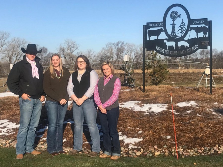 Animal Science students recently competed in multiple contests at the NACTA Judging Contests. —Courtesy photo
