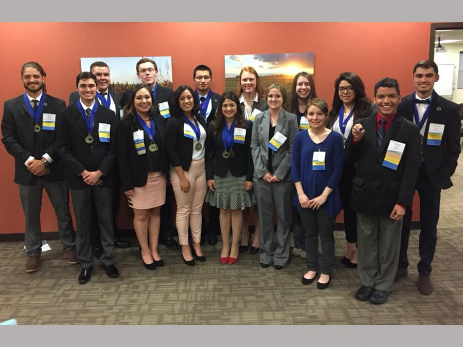 PBL members recently traveled to State Leadership Conference in Oklahoma City. —Courtesy photo
