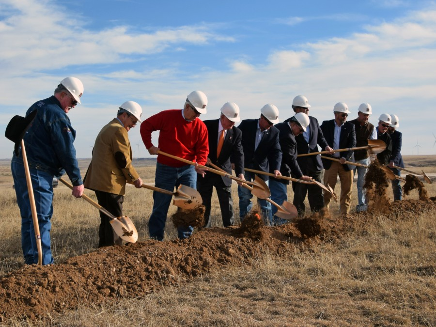 Shooting Sports Groundbreaking — Photo by Meghan Gates