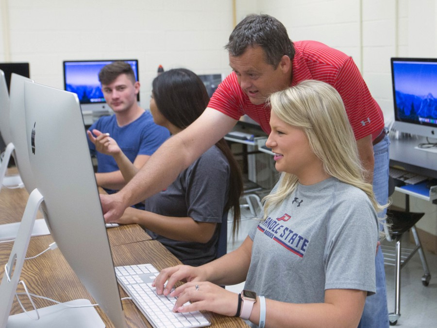 Panhandle State attributes its success to new changes, additional programs, and campus-wide recruiting effort — Photo by Bruce Waterfield