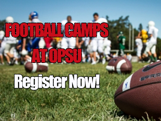 Registration is open for summer football camps at OPSU.