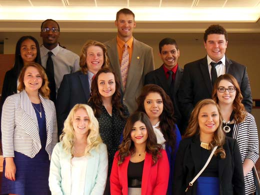 OPSU PBL members pause for a quick photo at the State Leadership Conference held April 22-23. —Courtesy photo