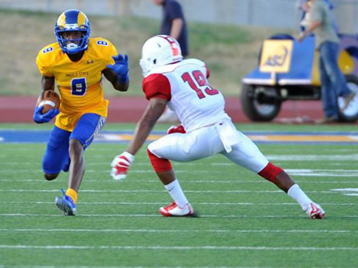 news aggies put to the test by no 12 angelo state
