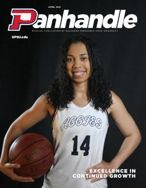 Cover of April 2021 Panhandle Magazine